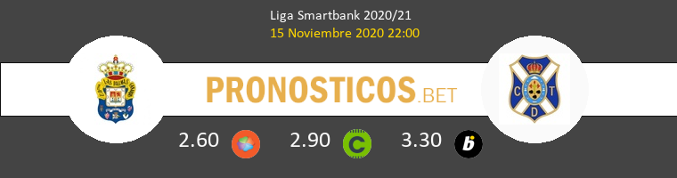 Las Palmas vs Tenerife Pronostico (15 Nov 2020) 1