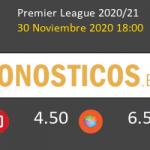 Leicester vs Fulham Pronostico (30 Nov 2020) 2