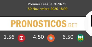 Leicester vs Fulham Pronostico (30 Nov 2020) 5