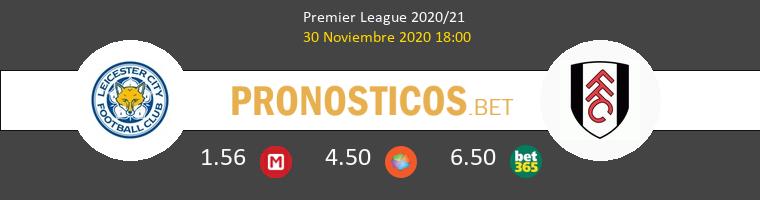 Leicester vs Fulham Pronostico (30 Nov 2020) 1