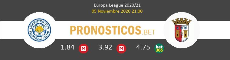 Leicester vs Sporting Braga Pronostico (5 Nov 2020) 1