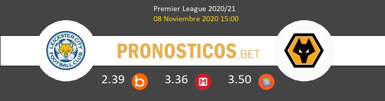 Leicester vs Wolves Pronostico (8 Nov 2020) 1