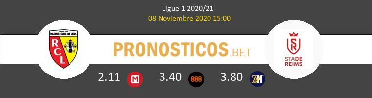 Lens vs Reims Pronostico (8 Nov 2020) 1