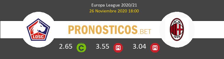 Lille vs Milan Pronostico (26 Nov 2020) 1