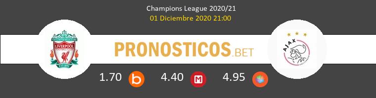 Liverpool vs Ajax Pronostico (1 Dic 2020) 1