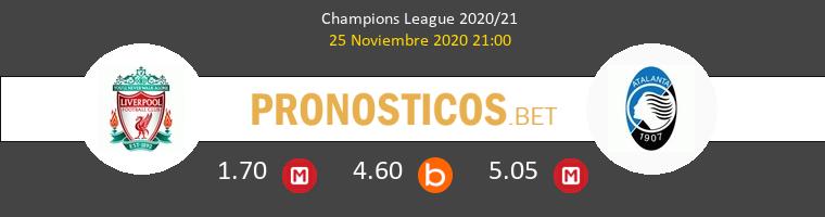 Liverpool vs Atalanta Pronostico (25 Nov 2020) 1