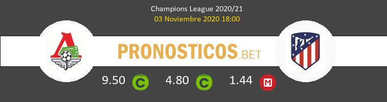 Lokomotiv Moskva vs Atlético Pronostico (3 Nov 2020) 1