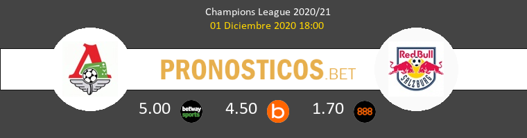 Lokomotiv Moskva vs Salzburg Pronostico (1 Dic 2020) 1