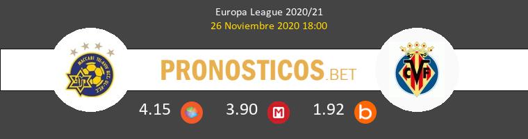 Maccabi Tel Aviv vs Villarreal Pronostico (26 Nov 2020) 1