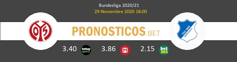 Mainz 05 vs Hoffenheim Pronostico (29 Nov 2020) 1