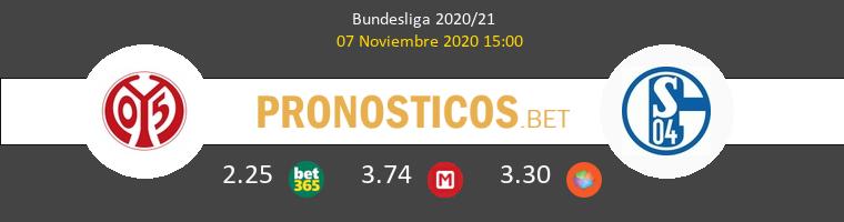 Mainz 05 vs Schalke 04 Pronostico (7 Nov 2020) 1