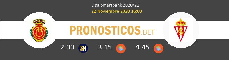 Mallorca vs Real Sporting Pronostico (22 Nov 2020) 1