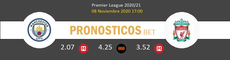 Manchester City vs Liverpool Pronostico (8 Nov 2020) 1
