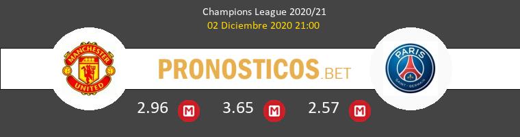 Manchester United vs Paris Saint Germain Pronostico (2 Dic 2020) 1
