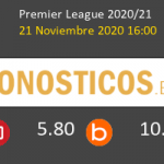 Manchester United vs West Bromwich Albion Pronostico (21 Nov 2020) 4