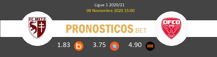 Metz vs Dijon FCO Pronostico (8 Nov 2020) 1
