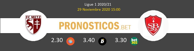 Metz vs Stade Brestois Pronostico (29 Nov 2020) 1