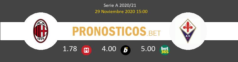 AC Milan vs Fiorentina Pronostico (29 Nov 2020) 1