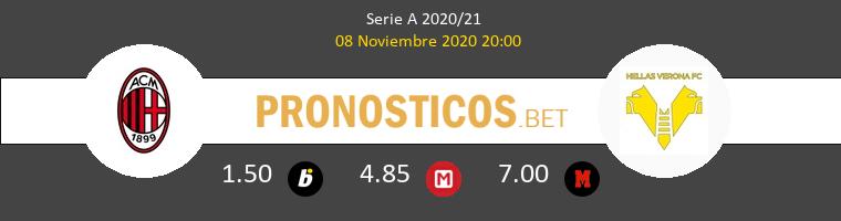 Milan vs Hellas Verona Pronostico (8 Nov 2020) 1