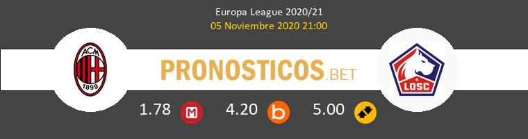 AC Milan vs Lille Pronostico (5 Nov 2020) 1