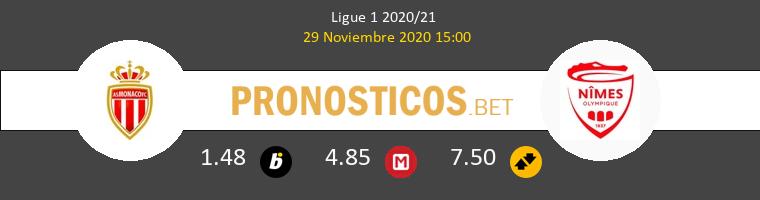 Monaco vs Nimes Pronostico (29 Nov 2020) 1
