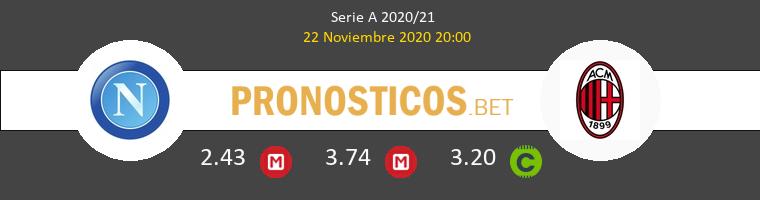 Napoles vs Milan Pronostico (22 Nov 2020) 1