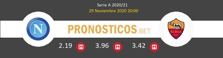 Nápoles vs Roma Pronostico (29 Nov 2020) 1