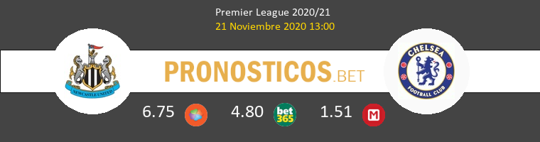 Newcastle vs Chelsea Pronostico (21 Nov 2020) 1