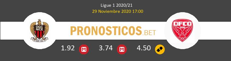 Niza vs Dijon FCO Pronostico (29 Nov 2020) 1