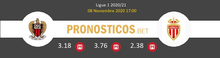 Niza vs Monaco Pronostico (8 Nov 2020) 1