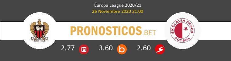 Nice vs Slavia Praha Pronostico (26 Nov 2020) 1