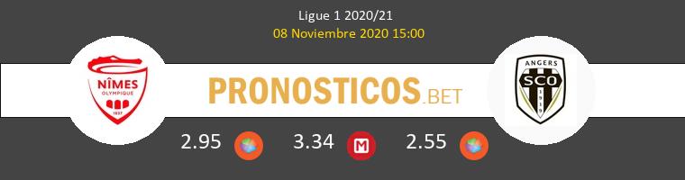 Nimes vs Angers SCO Pronostico (8 Nov 2020) 1