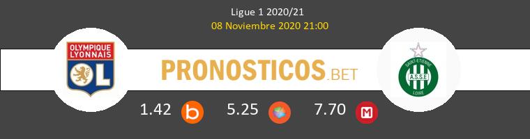 Lyon vs SaintvÉtienne Pronostico (8 Nov 2020) 1