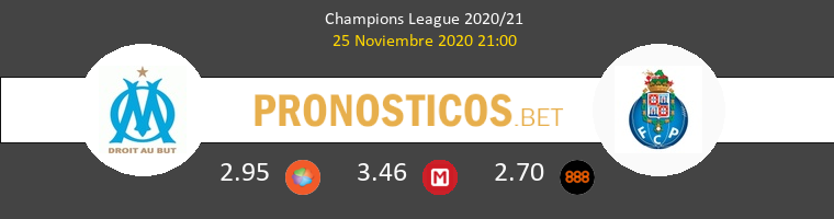 Marsella vs Porto Pronostico (25 Nov 2020) 1