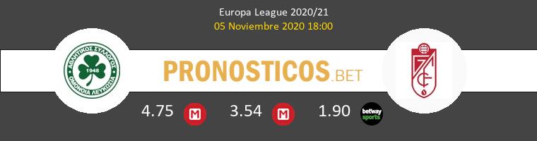 Omonia Nicosia vs Granada Pronostico (5 Nov 2020) 1
