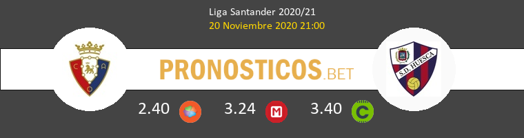 Osasuna vs Huesca Pronostico (20 Nov 2020) 1