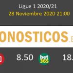 Paris Saint Germain vs Girondins Bordeaux Pronostico (28 Nov 2020) 2