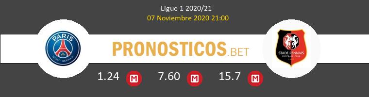 Paris Saint Germain vs Stade Rennais Pronostico (7 Nov 2020) 1