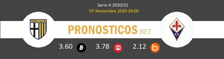 Parma vs Fiorentina Pronostico (7 Nov 2020) 1