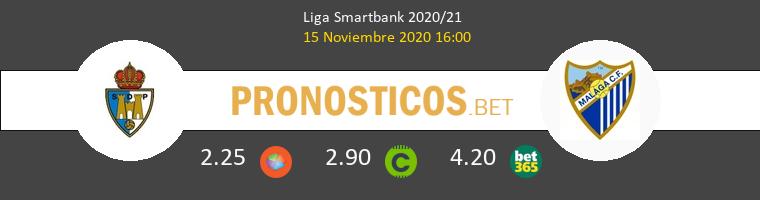 Ponferradina vs Málaga Pronostico (15 Nov 2020) 1
