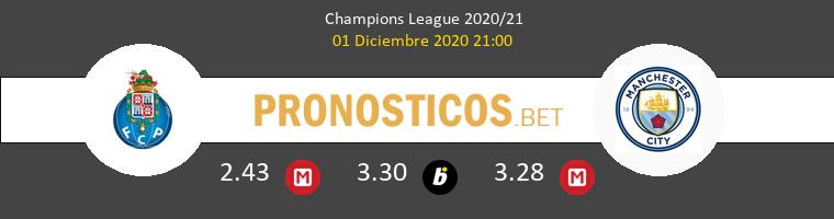 Porto vs Manchester City Pronostico (1 Dic 2020) 1