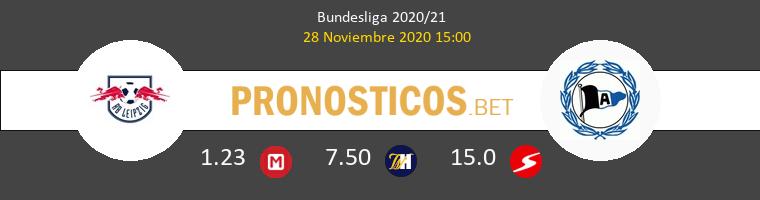 Red Bull Leipzig vs Arminia Bielefeld Pronostico (28 Nov 2020) 1