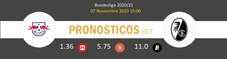 RB Leipzig vs SC Freiburg Pronostico (7 Nov 2020) 1