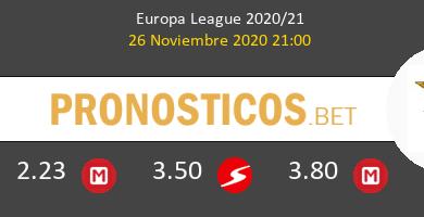 Rangers FC vs Benfica Pronostico (26 Nov 2020) 6