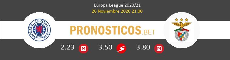Rangers FC vs Benfica Pronostico (26 Nov 2020) 1