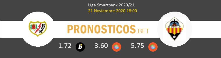 Rayo Vallecano vs CD Castellón Pronostico (21 Nov 2020) 1