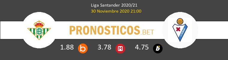 Real Betis vs Eibar Pronostico (30 Nov 2020) 1