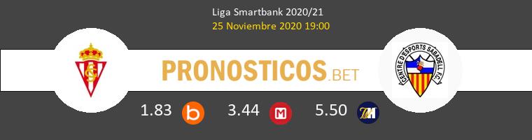 Real Sporting vs Sabadell Pronostico (25 Nov 2020) 1