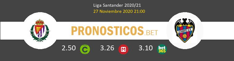 Real Valladolid vs Levante Pronostico (27 Nov 2020) 1