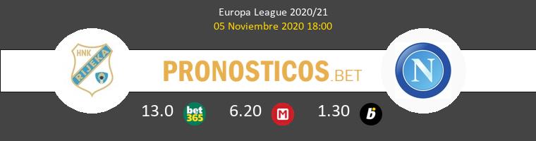 Rijeka vs Nápoles Pronostico (5 Nov 2020) 1